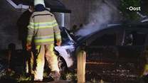Autobrand in Zwolle
