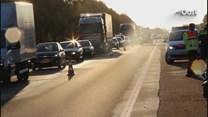 Ongelukl op de A1