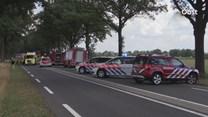 N348 afgesloten na ernstig ongeluk bij Raalte