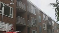 Brandstichting in leegstaande flats