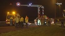 A1 dicht door ongeluk