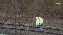 Er wordt druk gewerkt aan het spoor