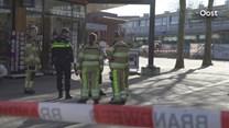 Het winkelcentrum in Deventer werd ontruimd