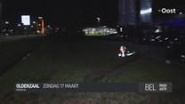 Inbrekers crashen met gestolen auto in Oldenzaal