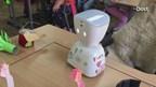 Robot Botje is grote steun voor zieke Fiona