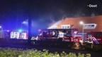 Brand aan de Van Roijensweg in Bergentheim