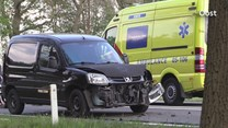 Een motorrijder raakte gewond bij het ongeval