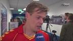 Jeroen Veldmate na afloop van FC Den Bosch - Go Ahead Eagles