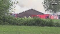 Asbest vrijgekomen bij grote schuurbrand in Laren
