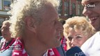 Kees Kist gehuldigd in Steenwijk
