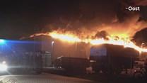 Reactie werknemer na afbranden van papierrecyclingbedrijf in Staphorst